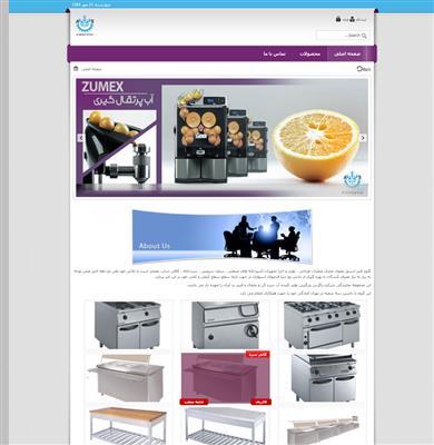 نمونه های طراحی سایت